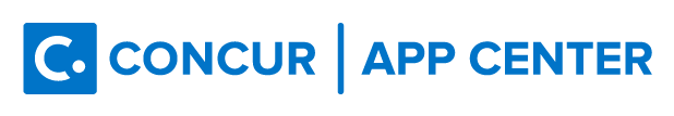 Concur Color Horizontal Logo